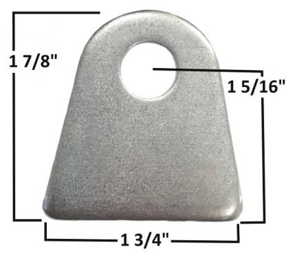 AA-026-A Chassis Tab