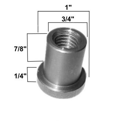 AA-138-7/8 Weld on Nut