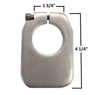 AA-175-D Clamp on Trailing Arm