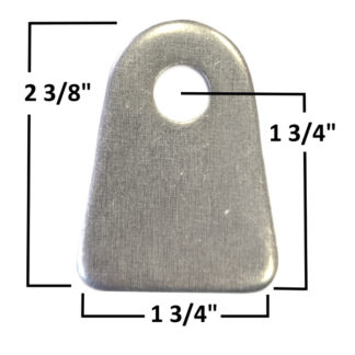 AA-181-A&B Large Chassis Tab