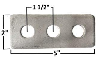 AA-183-A Pan Hard Bar Mount Plate