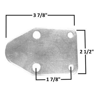 AA-371-A Fuel Pump Block-Off Plate