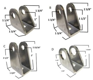 AA-415 Angled Clevis