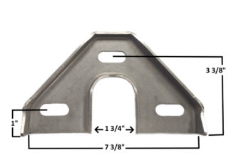 AA-426-A Die Formed Rack Bracket
