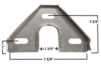 AA-426-C Die Formed Rack Bracket