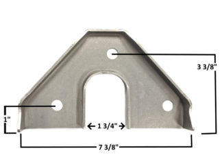 AA-426-E Die Formed Rack Bracket
