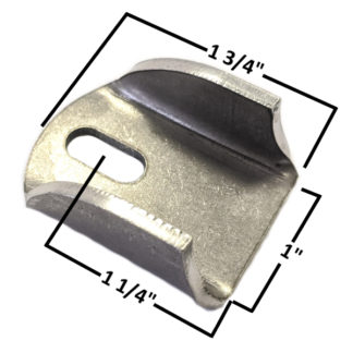 AA-609-A Slotted Body Tab