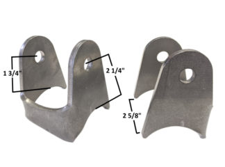 AA-615-A 10 Degree 4 Link Axle Mounts