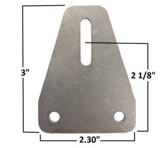 AA-637-A Body Brace Tab