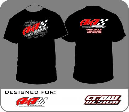 AA-TSHIRT-BLK Black Logo Tshirt
