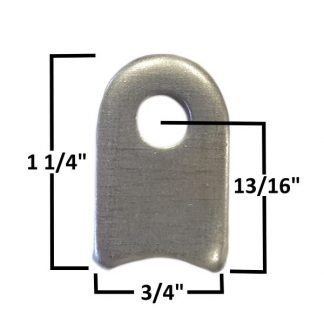 AA-378-A Front Axel Shock Tab