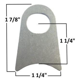 AA-599-A Window Net Tab, Fits 1 3/4″ Tubing