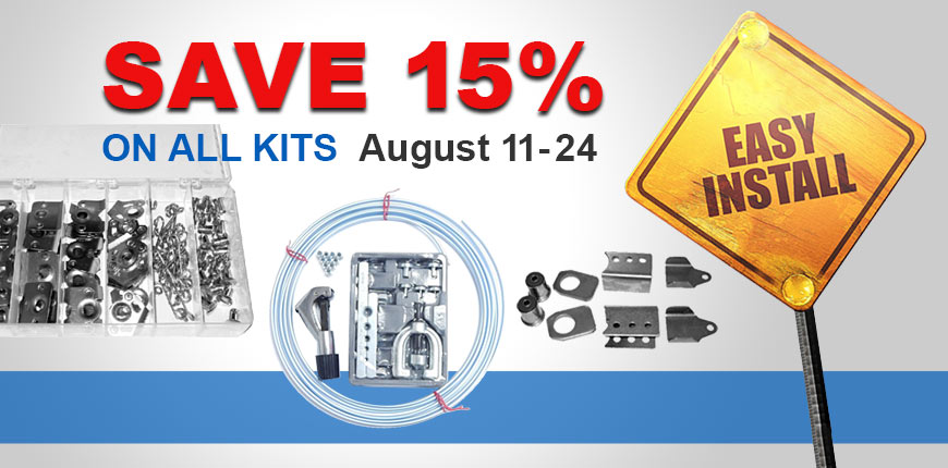Save 15% on All Kits