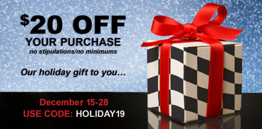 A&A Holiday Sale Banner