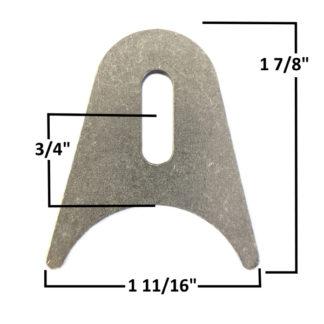 AA-673-A Slotted Radius Tab