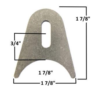 AA-674-A Slotted Radius Tab