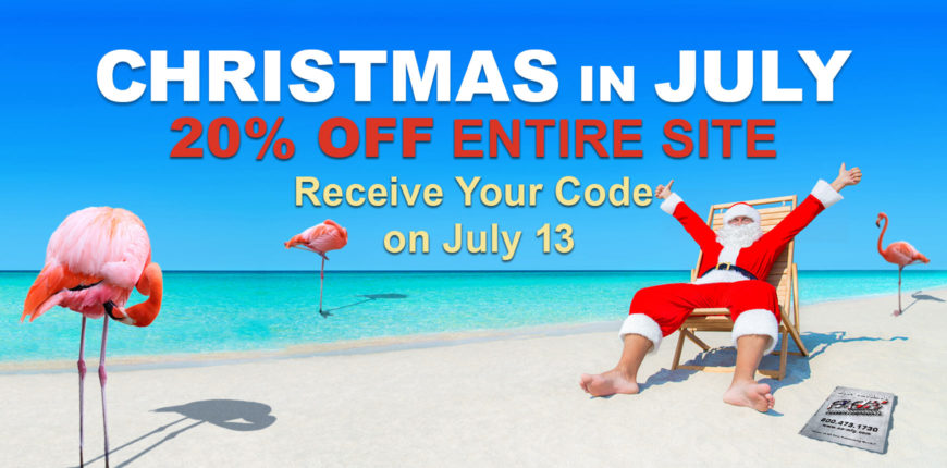 Christmas in July 20% Off Entire Site