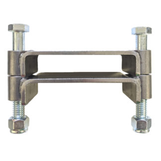 AA-672-A 2 Bolt Square Clamp